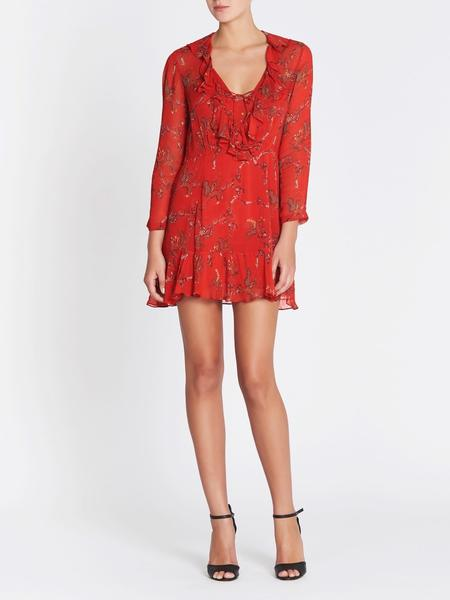 IRO Lucine Dress - Red