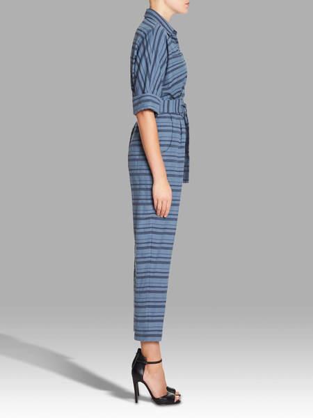 Mara Hoffman Drop Sleeve Jumpsuit - Stripes