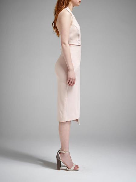 N / Nicholas Ponti Wrap Dress - Blush Pink