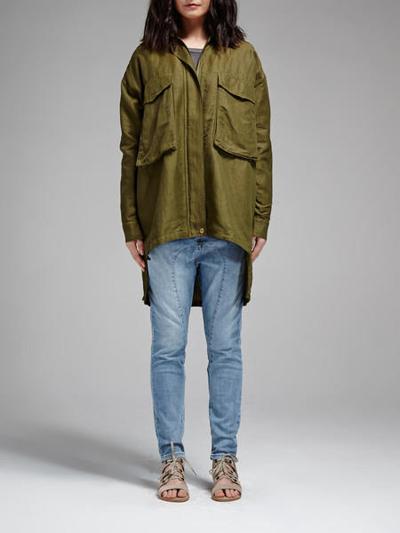 Rebecca Minkoff Beckals Jacket - Army Green