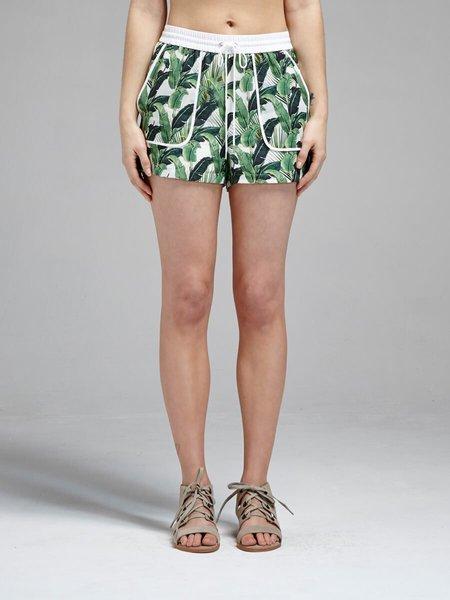 Rebecca Minkoff Valencia Short - Green Palm Frond