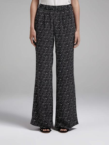 Joie Devana Wide Resort Pant - Black/White