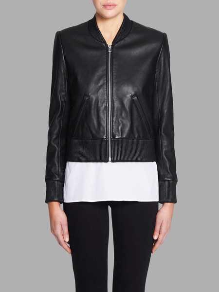 Camilla and Marc Corbin Leather Jacket - BLACK