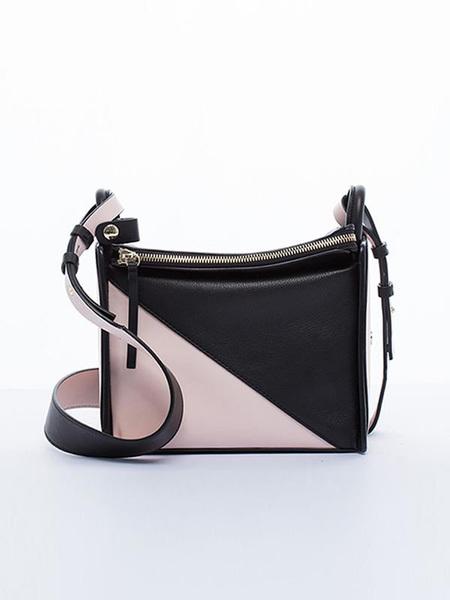 INCOMPLETE Empty Series Cross Body Bag - Black/Pink