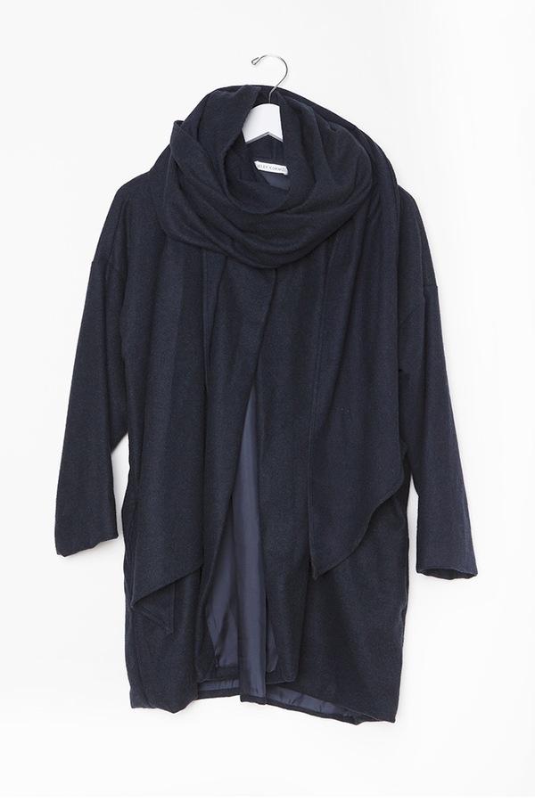 Kieley Kimmel Shelter Coat   Blue