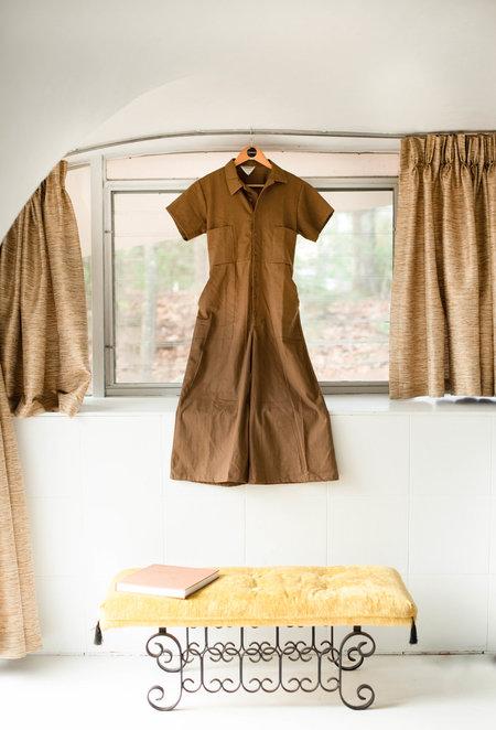 CONRADO Willie Coveralls - brown