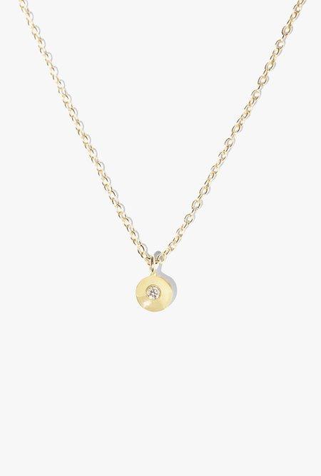 Ochre Objects Diamond Convex Necklace