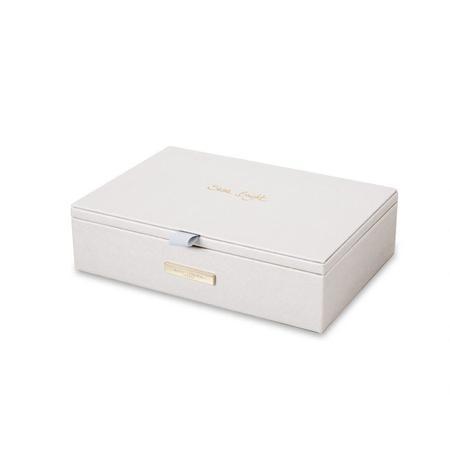 Katie Loxton Jewelry Box Shine Bright - Metallic White