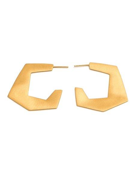 Cathy Pope Geometric Hoops