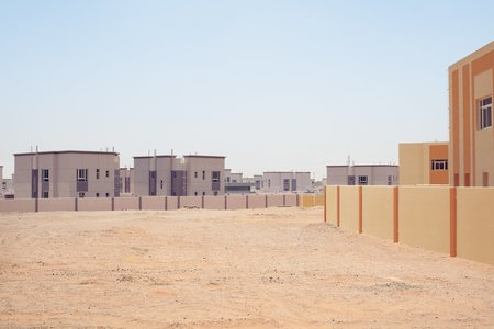 Chris Sisarich Purple & Yellow Houses - Abu Dhabi