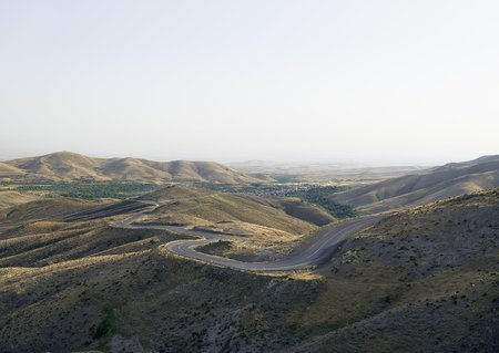 """Zico O'Neill """"Road, Alborz Mountains, Iran"""" 2105"""