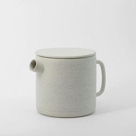 Ghost Wares Tea Pot - White Speckle