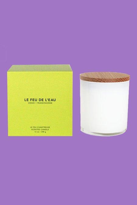 Le Feu De L'Eau Cedar + Frankincense Candle