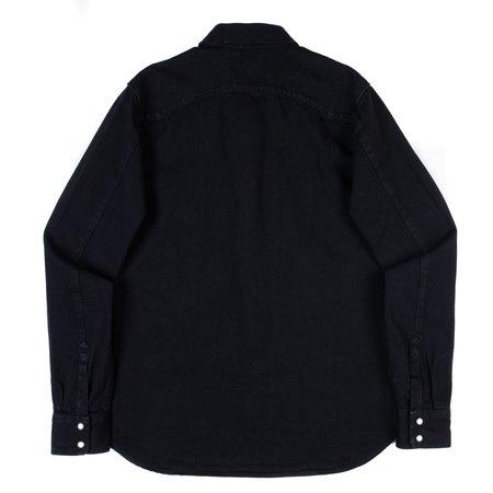 Freenote Cloth Modern Western Shirt - 11 oz. Black Denim