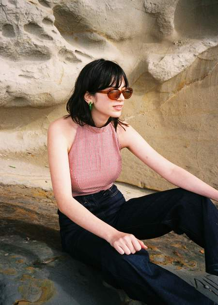 Auor Paloma Sunglasses - AMBER