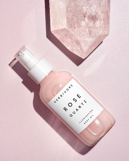 Herbivore Rose Quartz Illuminating Body Oil
