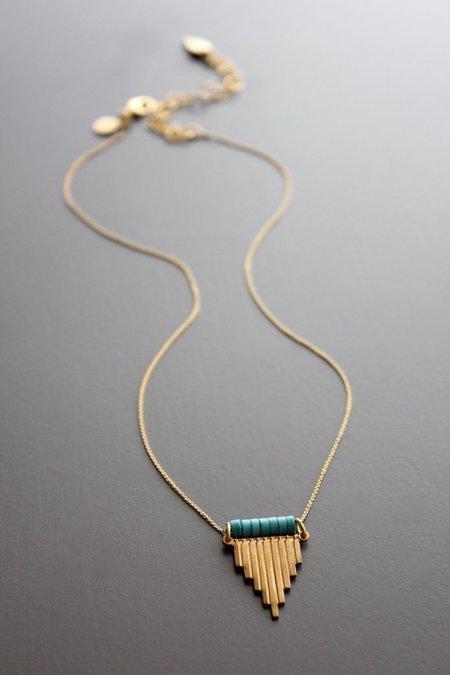 David Aubrey Inc Magnesite Necklace