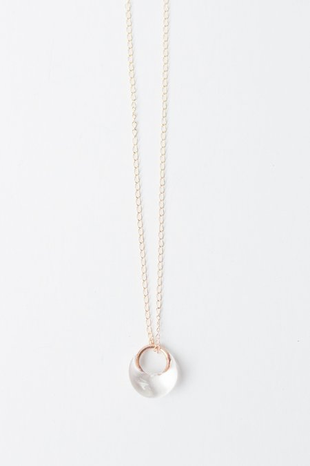 JESS PANZA Glacial Necklace - Clear