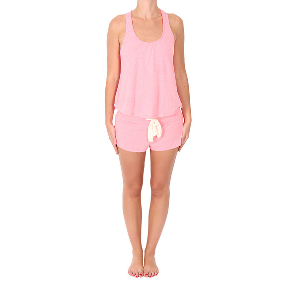 Eberjey Pink Heather Pajamas