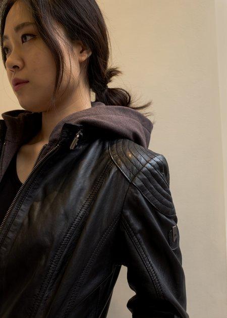 Mauritius Casey Leather Jacket - Black