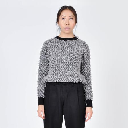 Peter Jensen Loop Knit Sweater - Gray