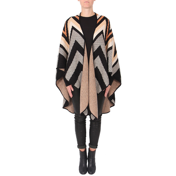 Mara Hoffman Knit Cape