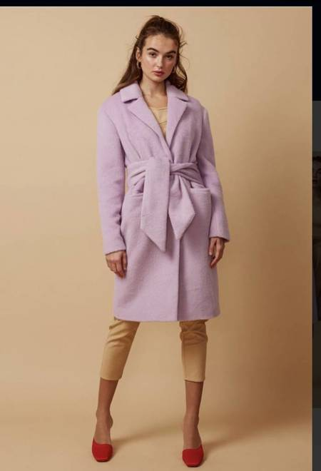 Finders Keepers Gravity Coat - Lilac