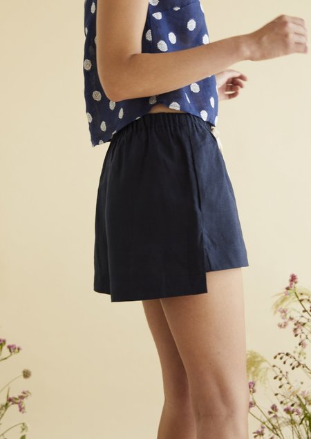 hej hej Small but Mighty Shorts - Indigo