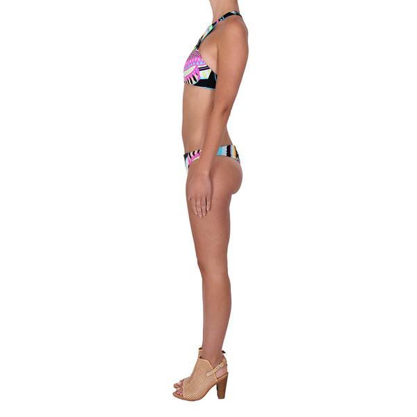 Mara Hoffman Reversible Racer Back Top and Brazilian Bottom Bikini