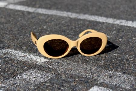 Crap Eyewear Love Tempo Sunglasses - Gloss Yellow