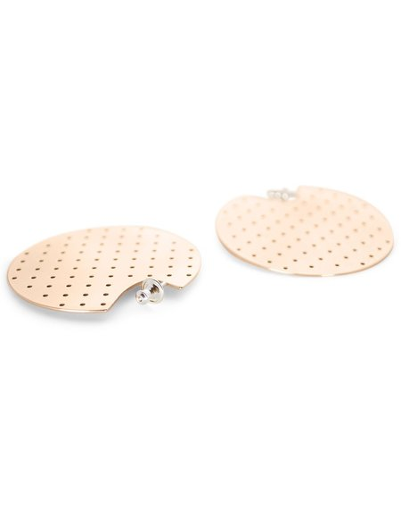 Minoux Perforated Disc Hoops