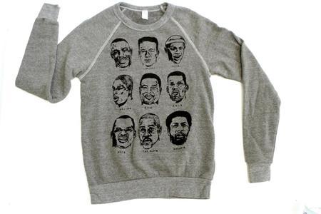 Cairo Seattle Supersonics Sweatshirt - Heather Grey