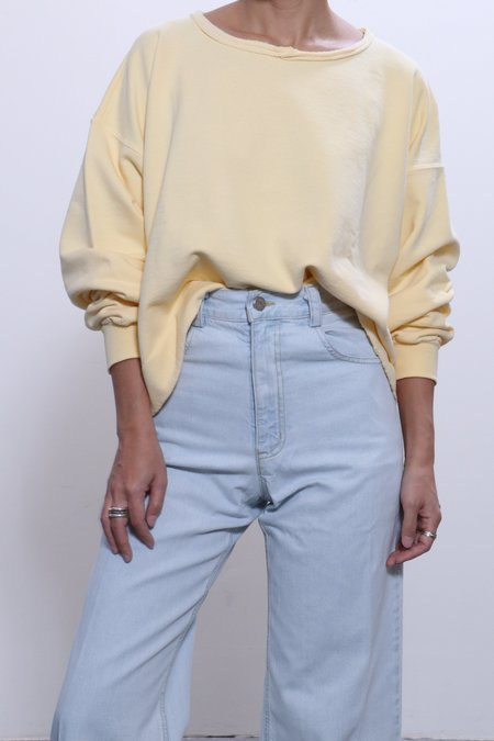 Rachel Comey Mingle Sweatshirt - Lemon