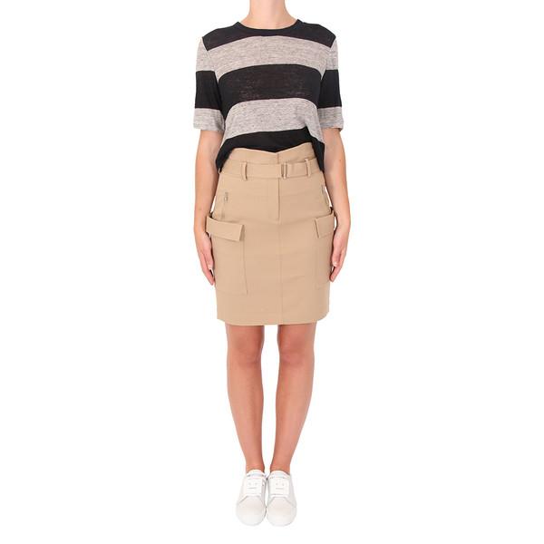 A.L.C. Roth Stripe Linen Top