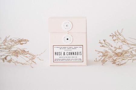Woodlot 13.5 oz Candle - Rose & Cannabis