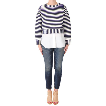 10 Crosby Derek Lam Sweater 2-in-1 Top