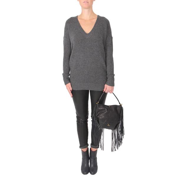 Theory Syrene V-Neck Cashmere Sweater