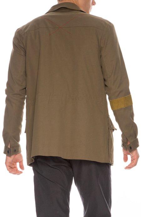 78 STITCHES 2.8 Multi Pocket Jacket - ARMY GREEN