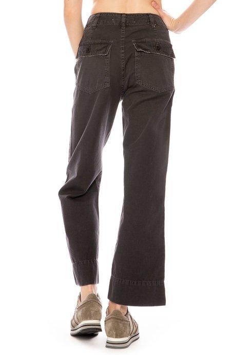 Amo Army Wide Leg Pant - Washed Black