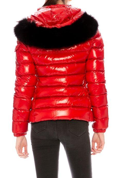 Moncler Badyfur Puffer Jacket with Removable Fur Hood