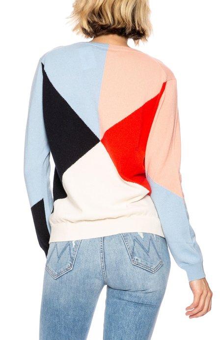 Chinti and Parker Cashmere Love Sweater - Multi