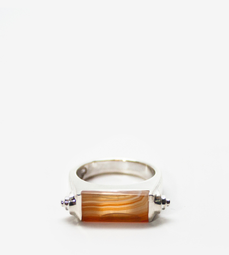 LUZ ORTIZ Nova Honey Agate Ring