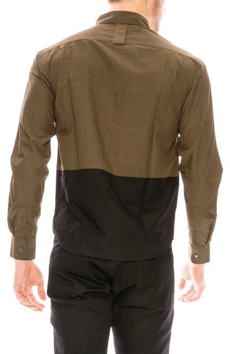 P.L.C Contrast Shirt - Khaki