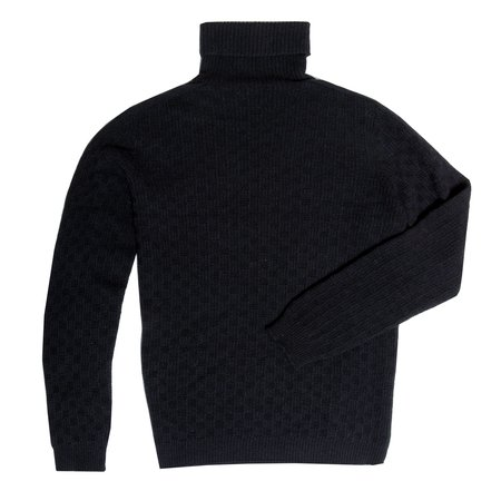 Krammer & Stoudt Turtle Neck Sweater - Black
