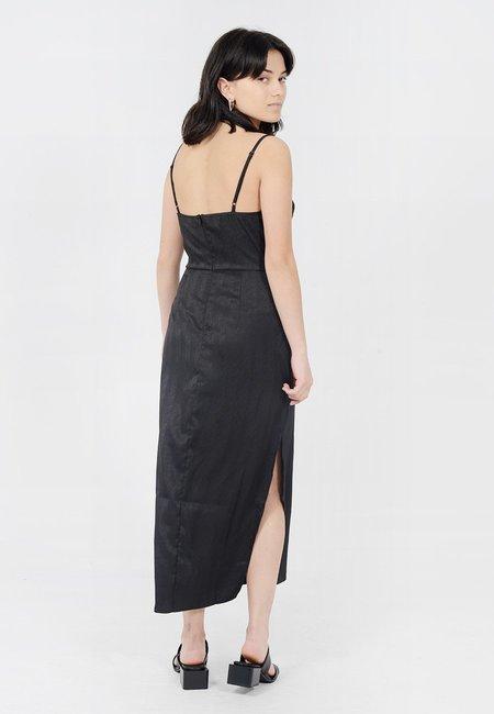 The Fifth Label Lotti Slip Dress - Black