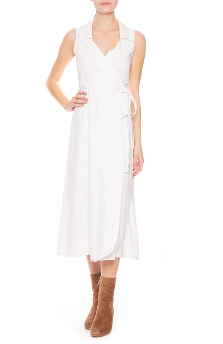 Sancia Fei Wrap Dress