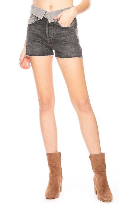 Jean Atelier Flip Shorts - Steel