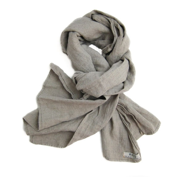 Esby Linen Large Scarf