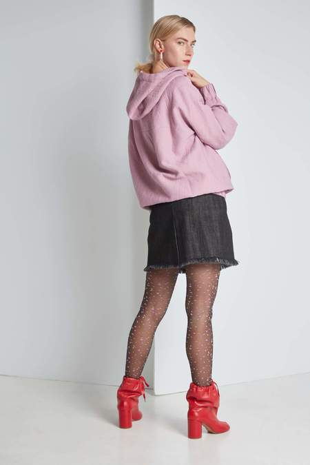 FFIXXED STUDIOS Comfort Hoodie - Dusty Pink