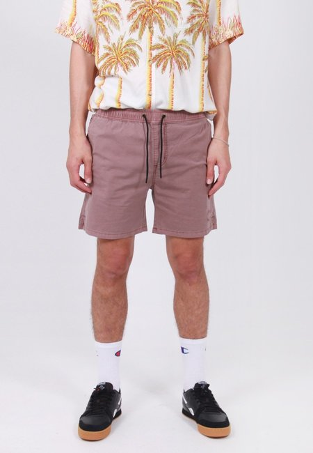 Rollas Beach Boy Circle Shorts - Burgundy
